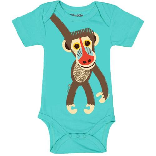 Mandrill short sleeved body