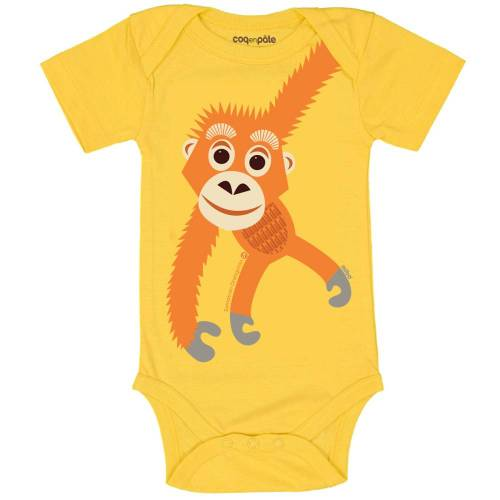 Orangutan short sleeved body