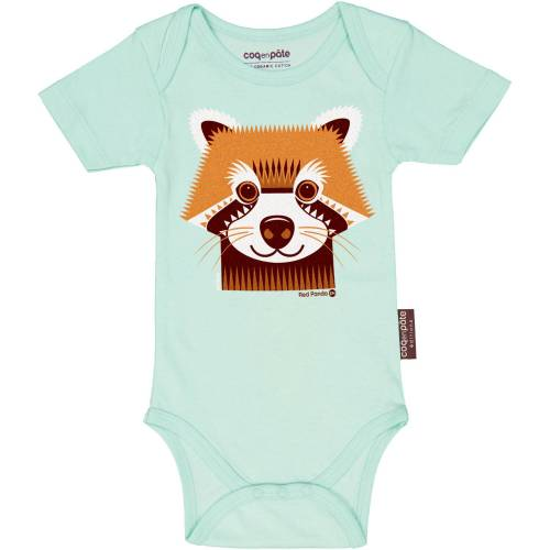 Red panda short sleeved body