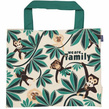 """We Are Family"" large tote bag"
