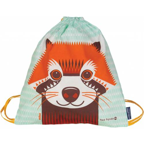 Red panda activity bag
