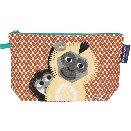 Gibbon pencil case