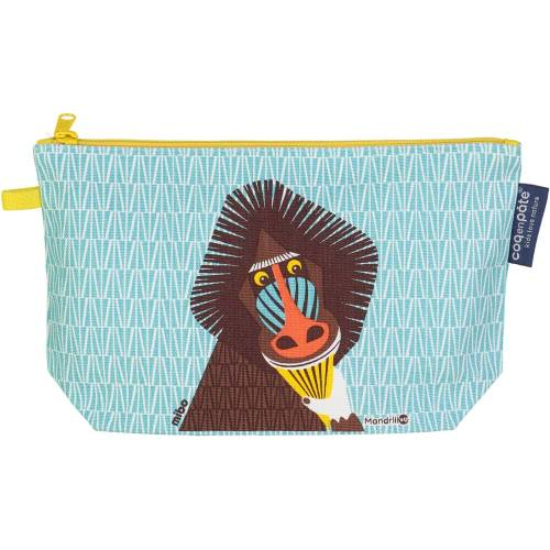 Mandrill pencil case