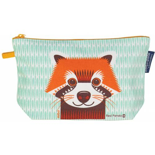 Red panda pencil case
