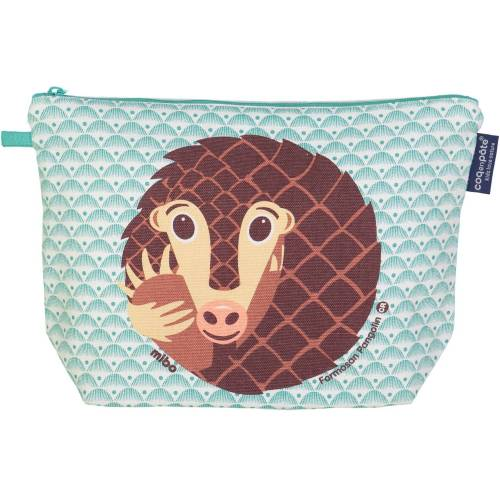 Pangolin toilet bag