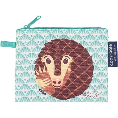 Pangolin purse