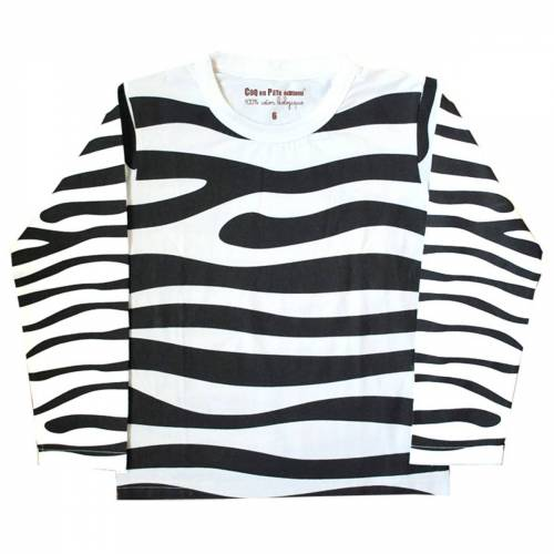 Zebra fancy dress t-shirt