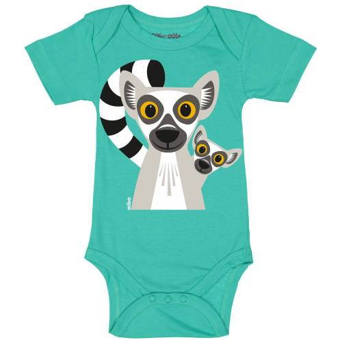 Lemur short sleeved body