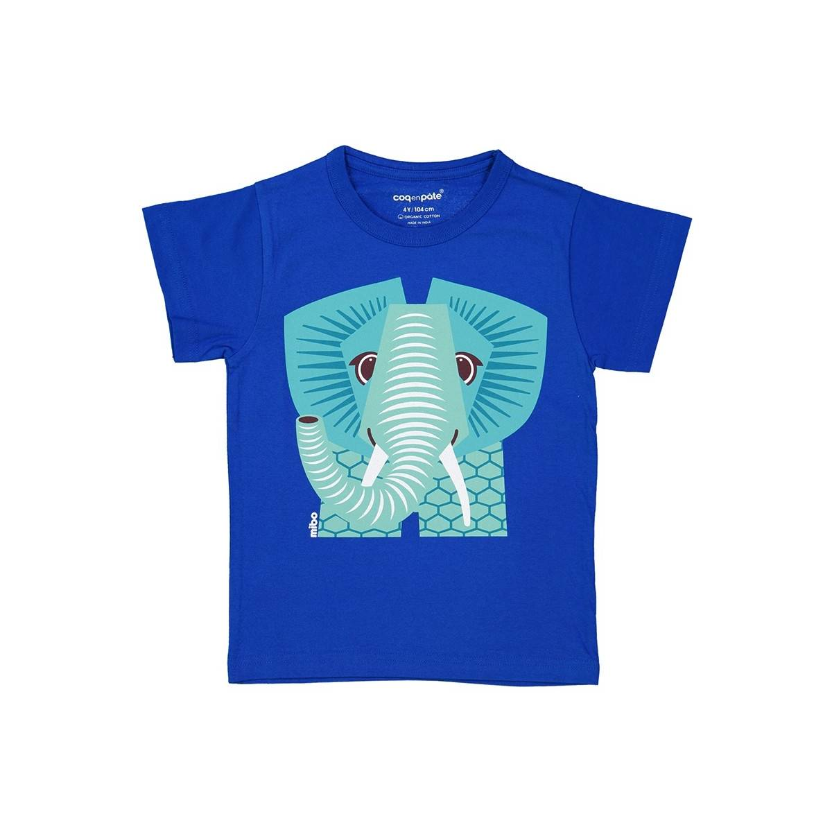 Blue elephant t-shirt
