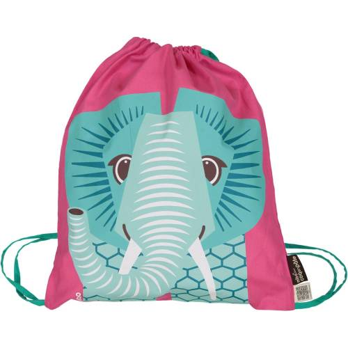 Pink elephant activity bag