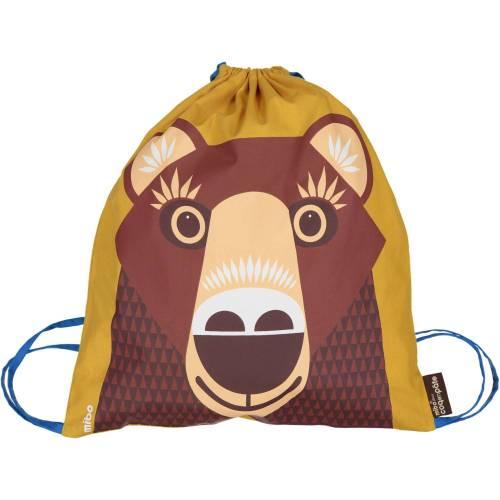 Brown bear activity bag