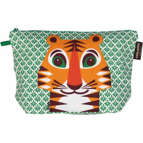 Tiger toilet bag