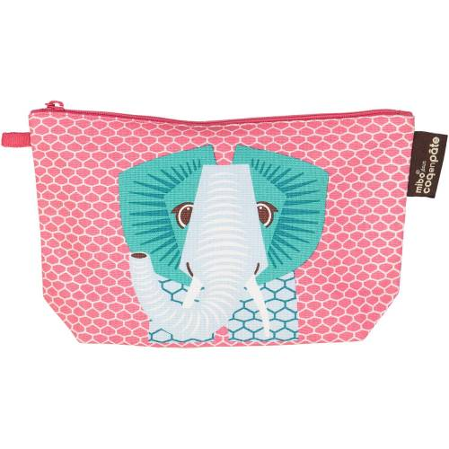 Pink elephant pencil case