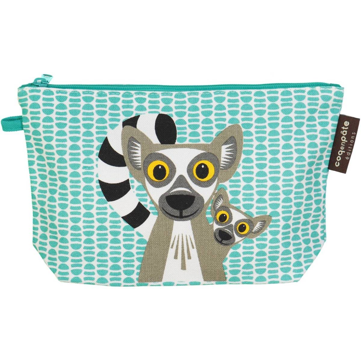 Lemur pencil case