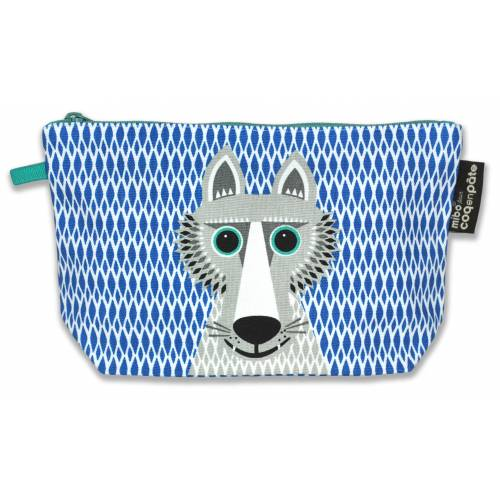 Wolf pencil case