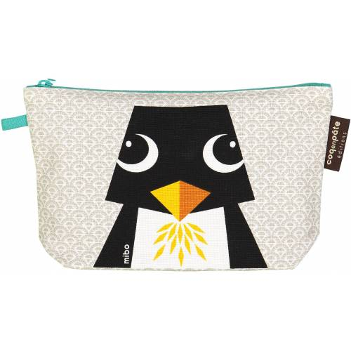 Penguin pencil case