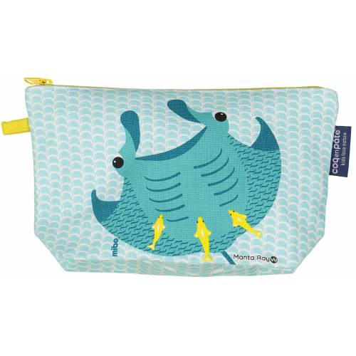 Manta ray pencil case