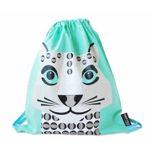 Snow leopard activity bag