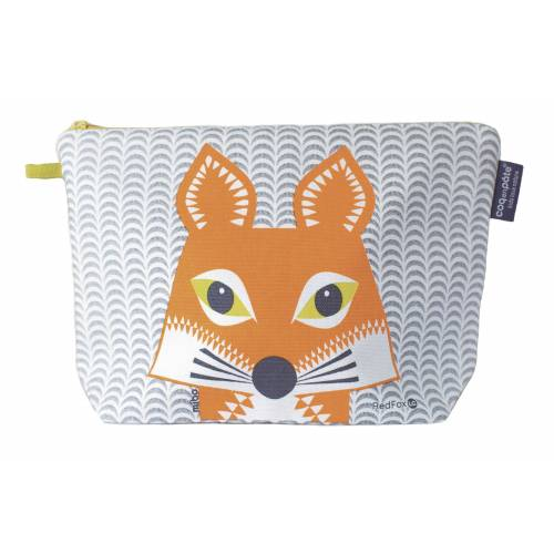 Fox toilet bag