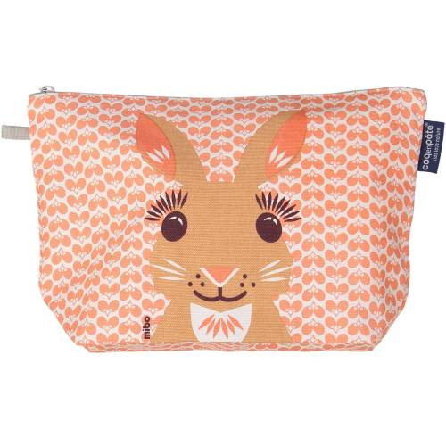 Rabbit toilet bag