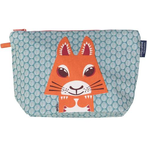 Squirrel toilet bag