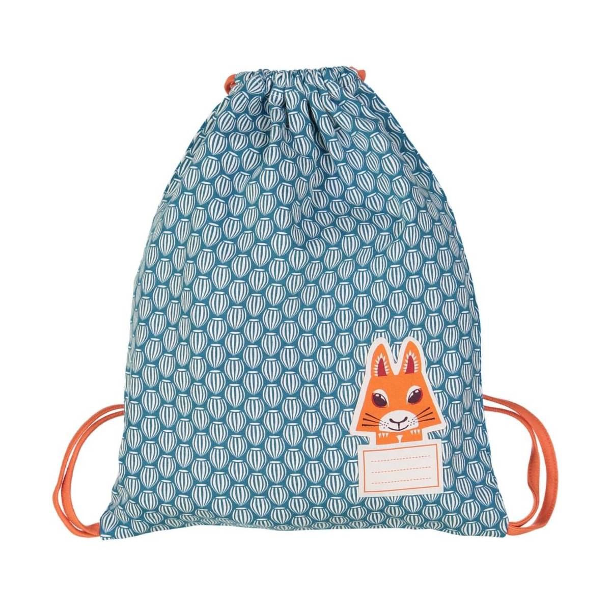 Squirrel pyjama bag