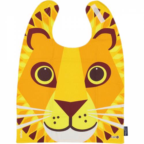 Lion giant bib