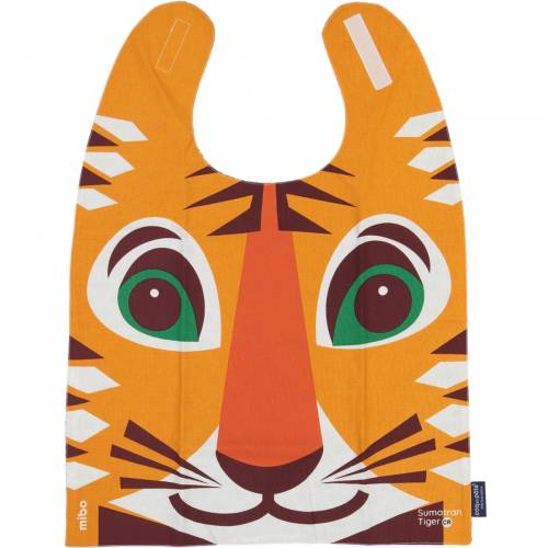 Tiger giant bib
