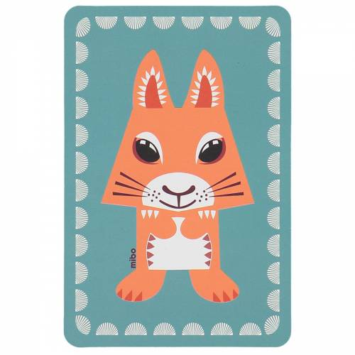 Squirrel birthcard