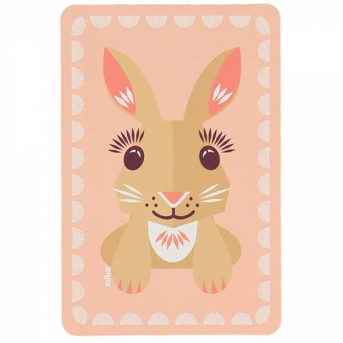 Rabbit birthcard