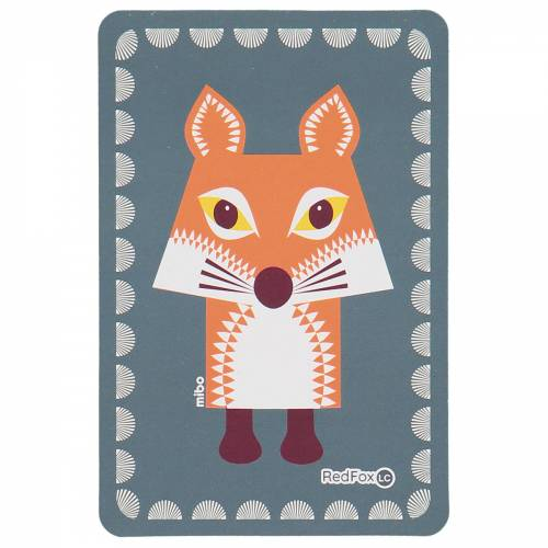 Fox birthcard