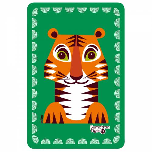Tiger birthcard