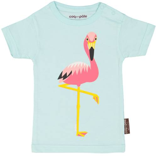T-shirt bébé 1 an Flamant rose