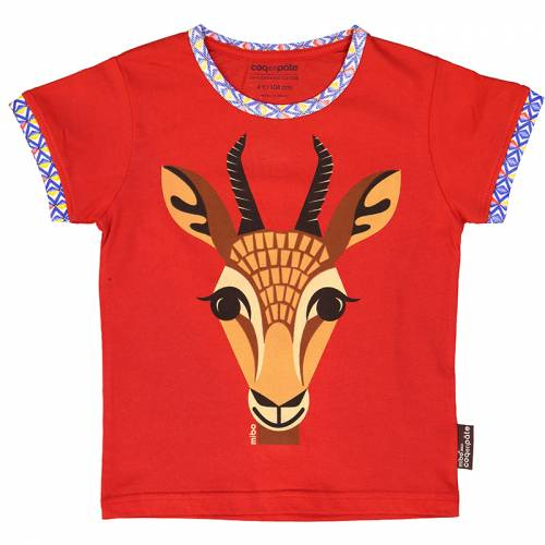 Gazelle 1 year baby t-shirt