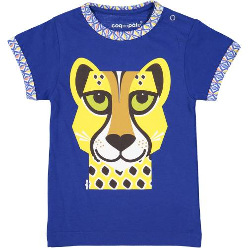 Cheetah 1 year baby t-shirt