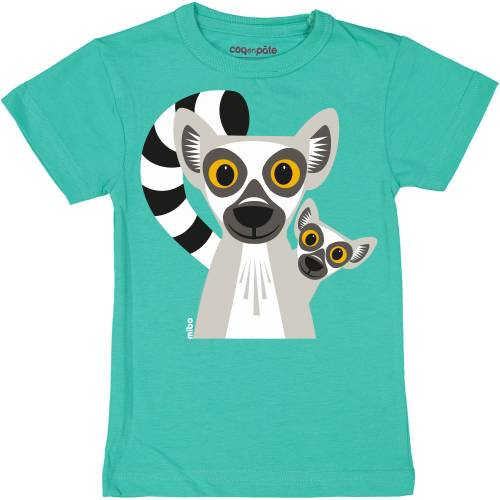 Lemur 1 year baby t-shirt