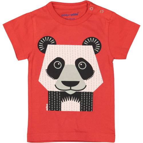 Giant panda 1 year baby t-shirt