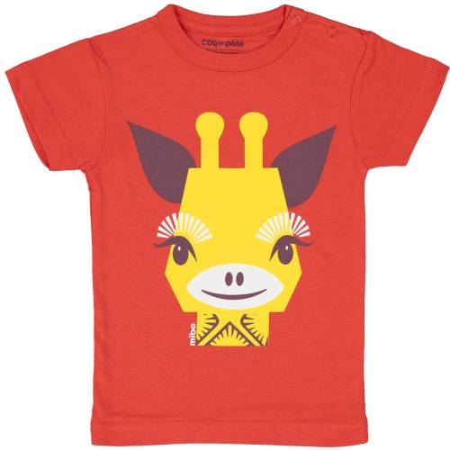 Giraffe 1 year baby t-shirt