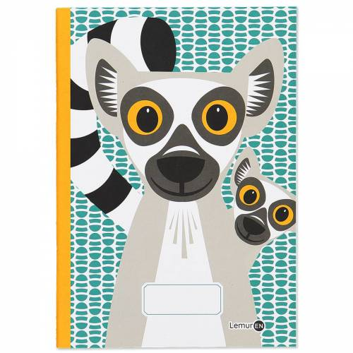 Lemur A5 notebook