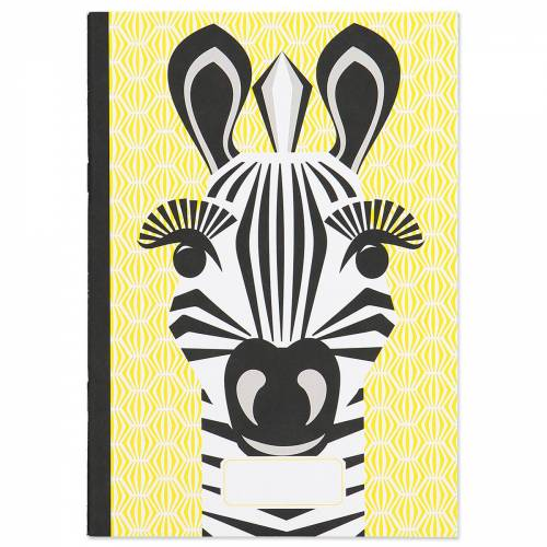 Zebra A5 notebook