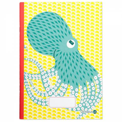 Octopus A5 notebook