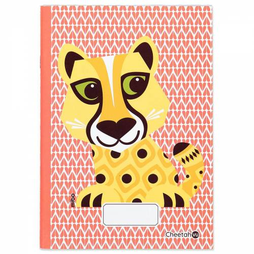 A5 Cheetah notebook