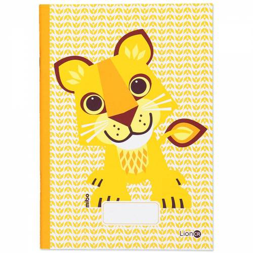 A5 Lion notebook