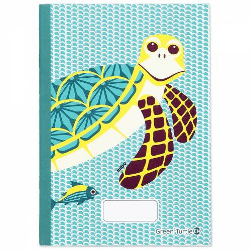 A5 Turtle notebook