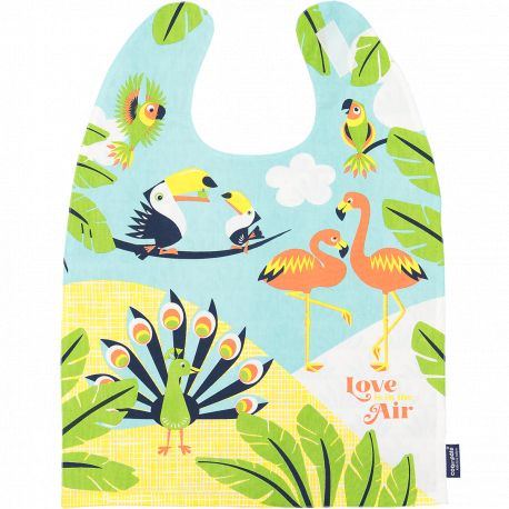 Love is in the air giant bib