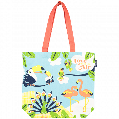 Love is in the air shopping bag