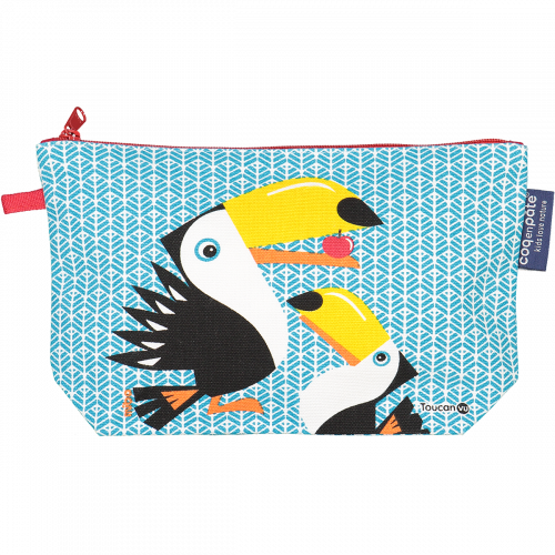 Trousse crayons Toucan