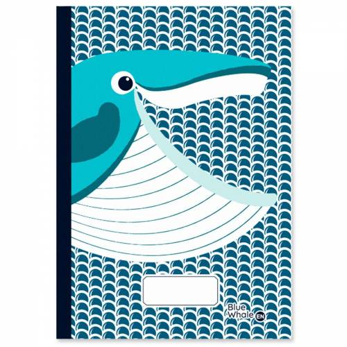 Whale A5 notebook