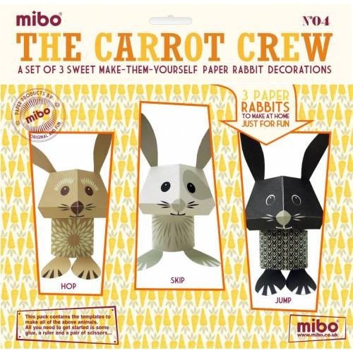 Paper Toys - The Carrot Crew