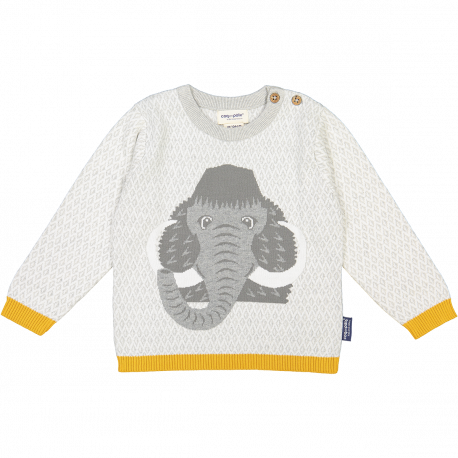 Mammoth knitted jumper